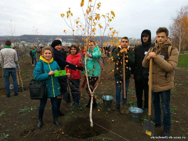 Патріотична акція Дерево-душа героя
