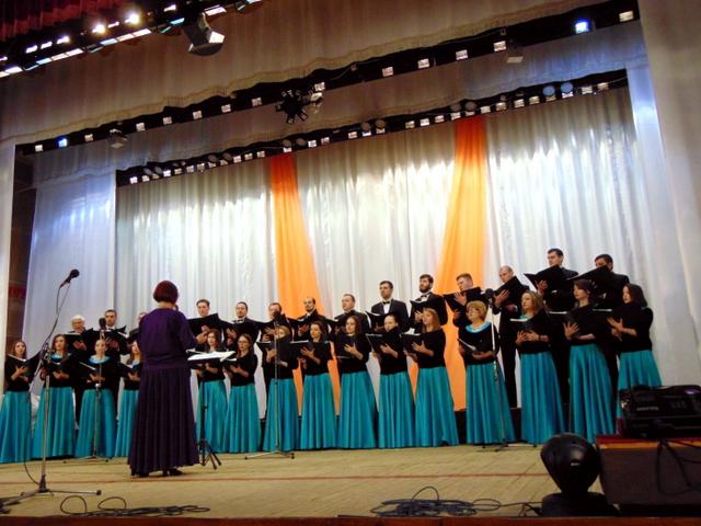 Державний хор ПМР, керівник Т. Твердохліб